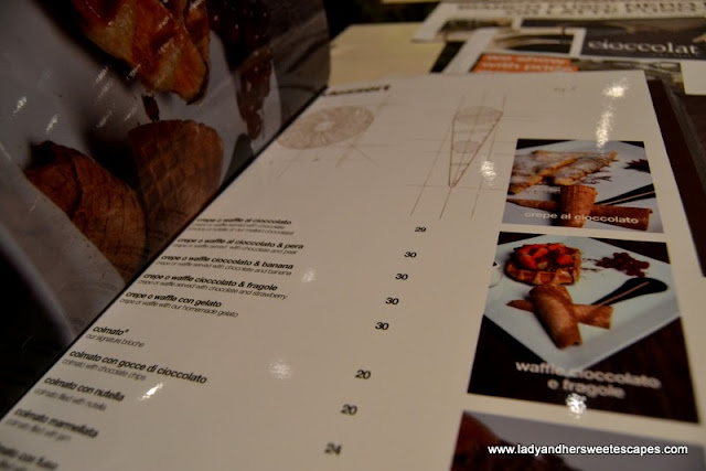 CioccolatItaliani's menu in Dubai Festival City