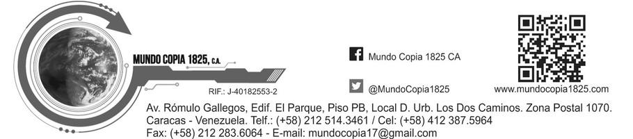 Mundo Copia 1825 CA