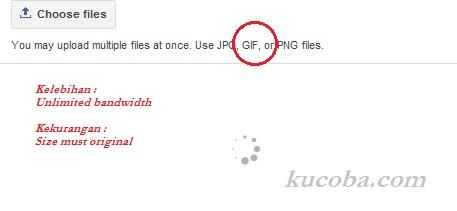 Sekarang Blogspot Sudah Bisa Upload dan Hosting Gambar Gif