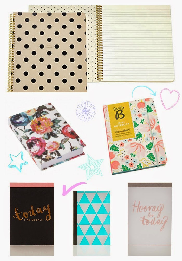 stationery, pretty stationery, marks and spencer, paper chase, john lewis, kate spade,