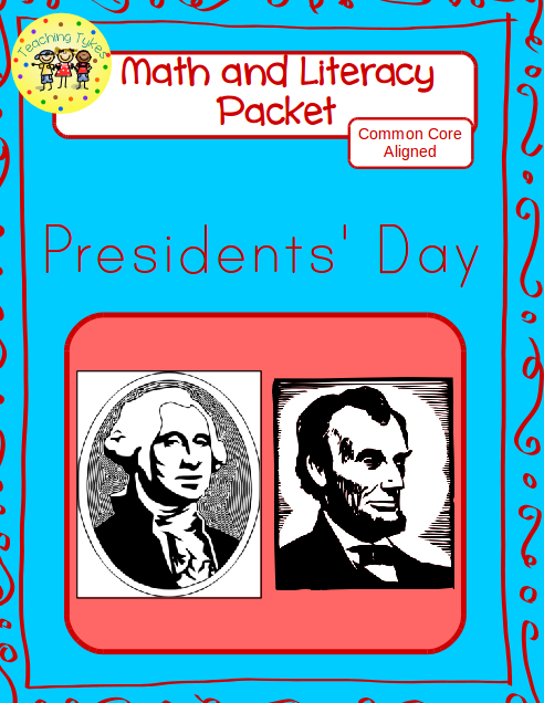 https://www.teacherspayteachers.com/Product/Presidents-Day-Math-and-Literacy-Packet-1694399