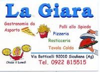 Convenzione soci 2013 ALT: Rosticceria, pizzeria, tavola calda, gastronomia La Giara Siculiana