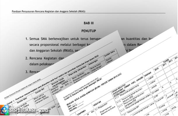 Panduan Penyusunan Rencana Kegiatan dan Anggara Sekolah (RKAS) SMA. Download Format File docx Microsoft Word.