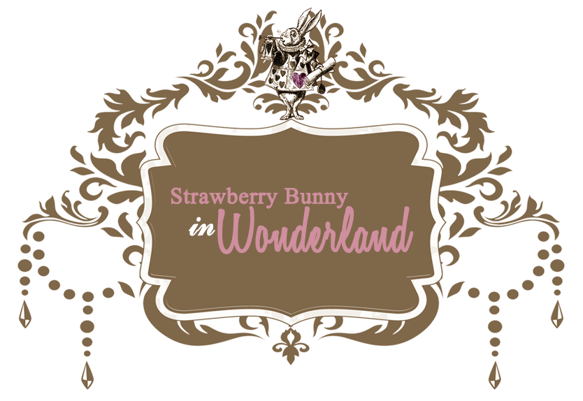 Strawberry Bunny in Wonderland