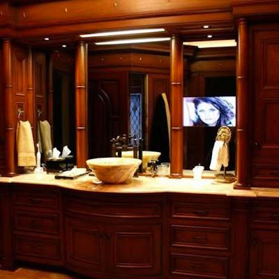 espejo tecnologico con tv