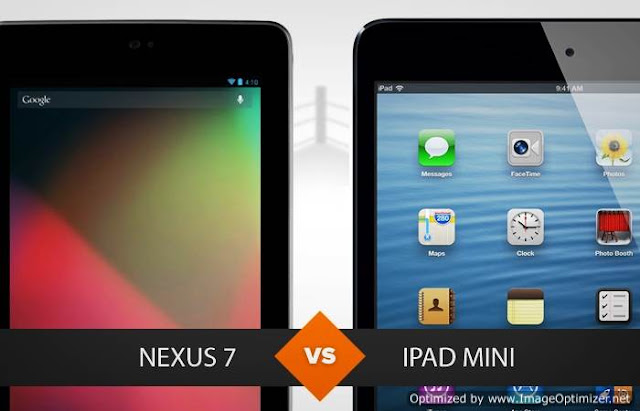 Nexus 7 ou iPad Mini