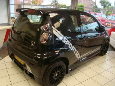 citybugblog my107 nice citroen c1 with lester bodykit. Black Bedroom Furniture Sets. Home Design Ideas