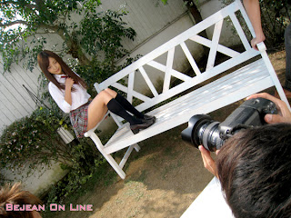 Mizuho Shiraishi Japanese Sexy Model Sexy Janpan Student Uniform From BEJEAN ON LINE 1
