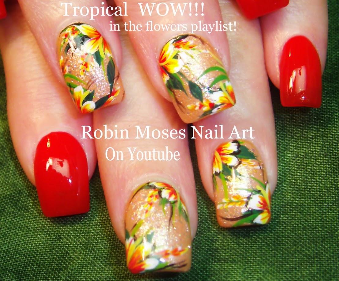 Nail Art by Robin Moses: New Spring Nail Art tutorial up!!! Lots of ...