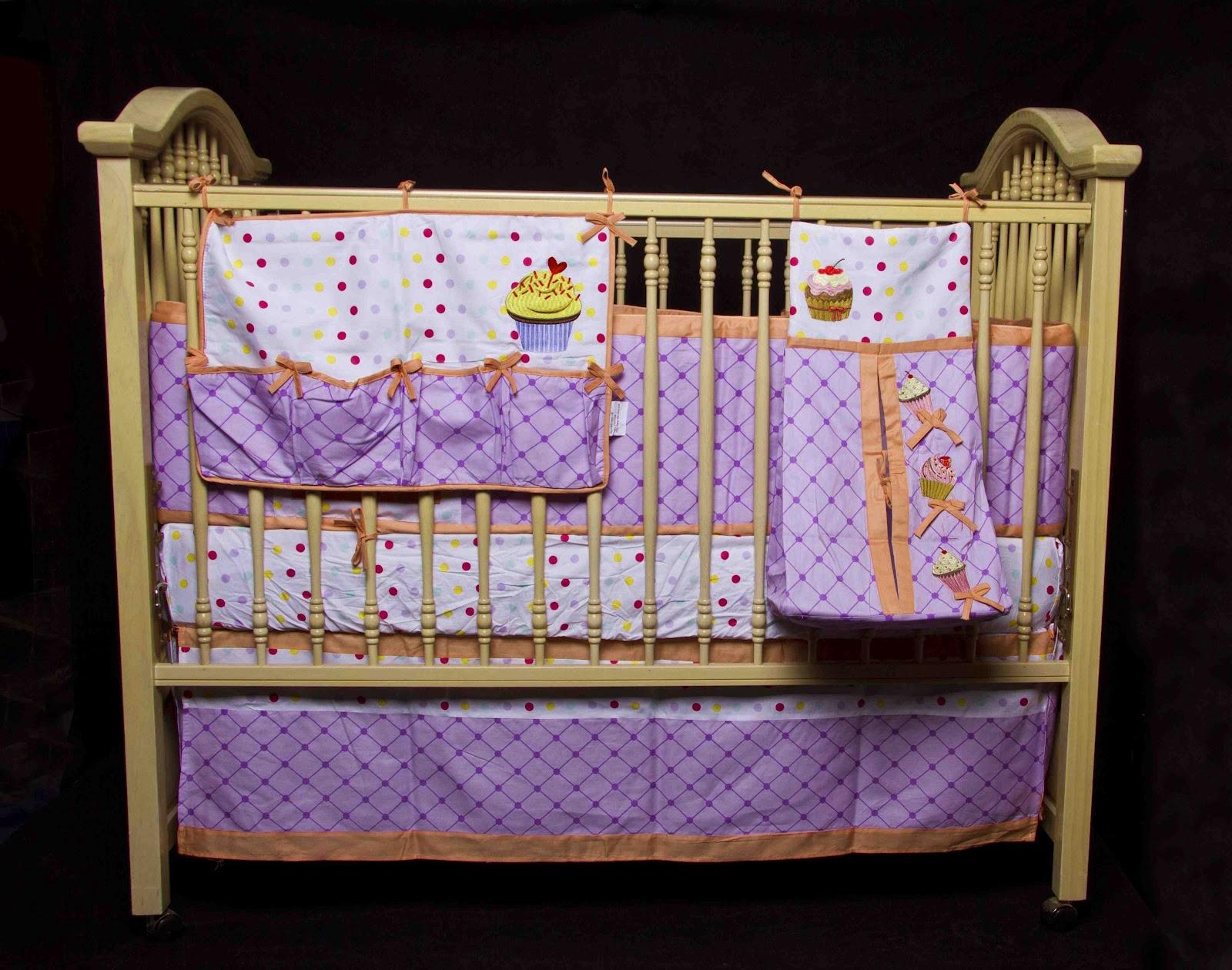 Cupcake Crib Bedding