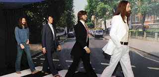Patung Lilin The Beatles