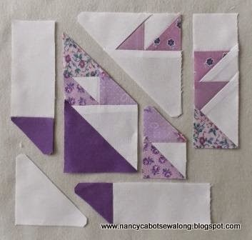 Cake Stand Quilt Block Pattern