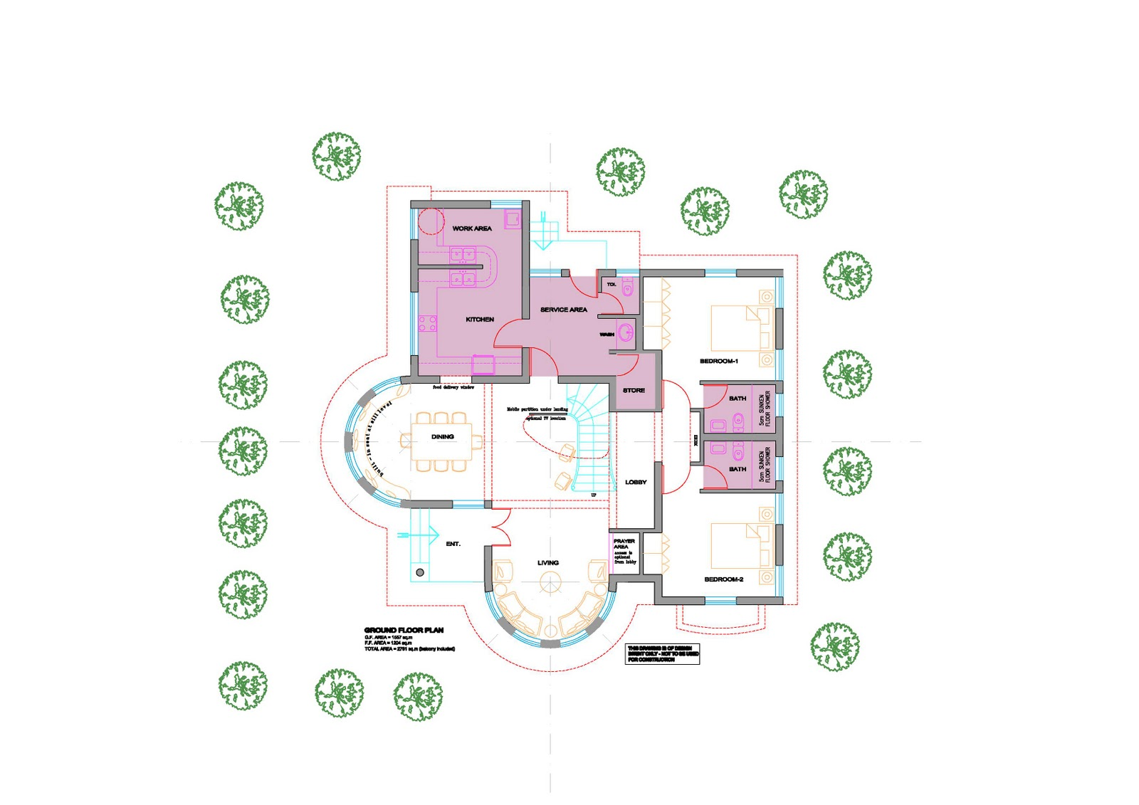Top 23 Photos Ideas For Round House Floor Plans House