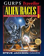 Cover of Alien Races 3 from Steve Jackson Games