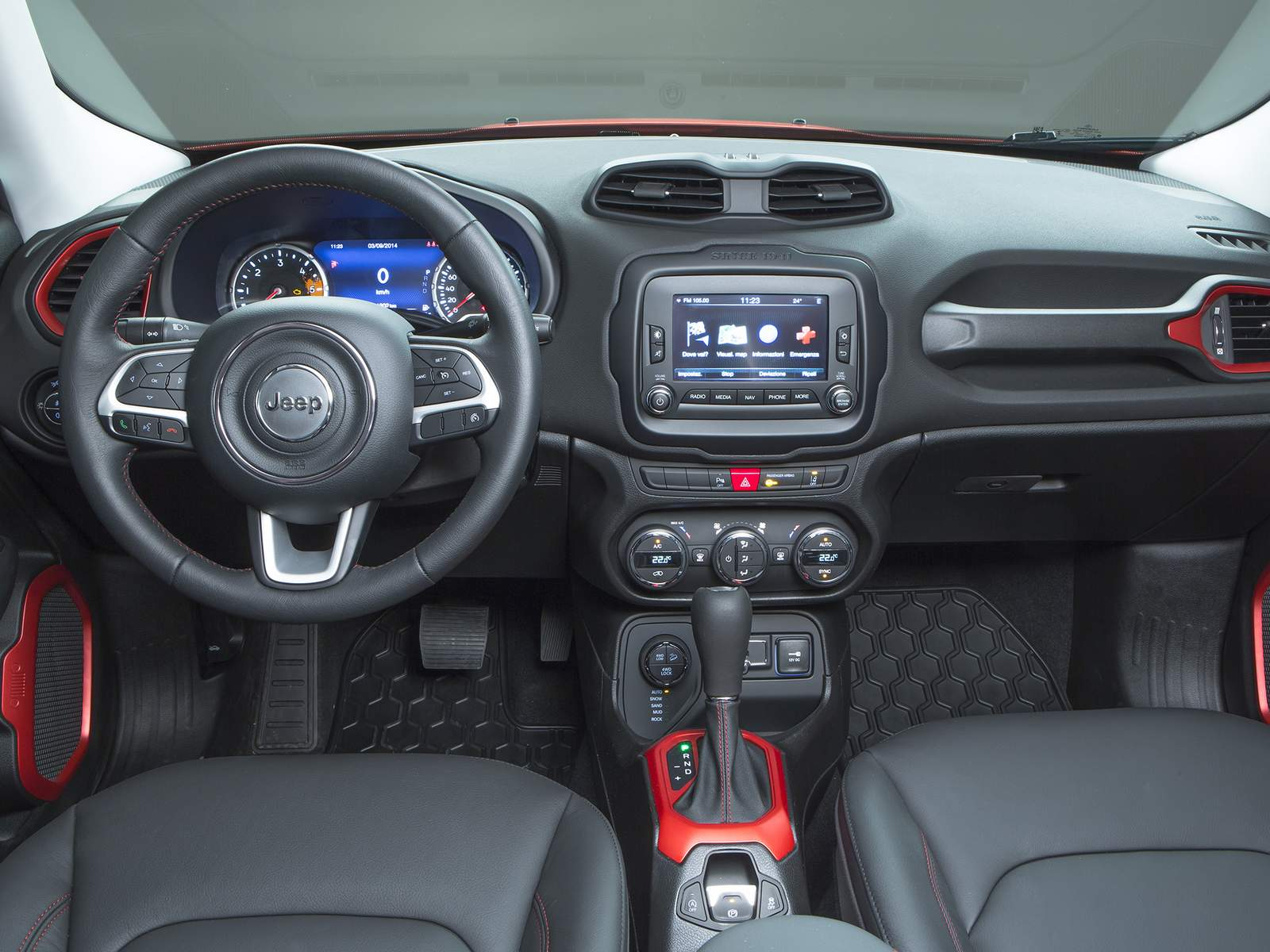 Jeep Renegade Trailhawk - interior