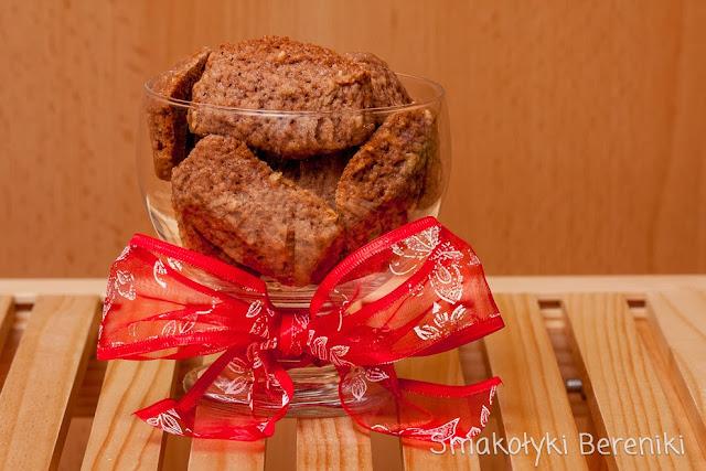 kakaowe ciastka z ciasta kruchego