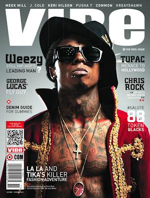 Revue De Presse // Lil Wayne, En Couv' Du Vibe, Parle Du Diss Avec Jay-Z