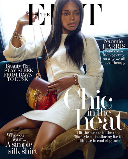 Actress @ Naomie Harris - The Edit UK, July 2015