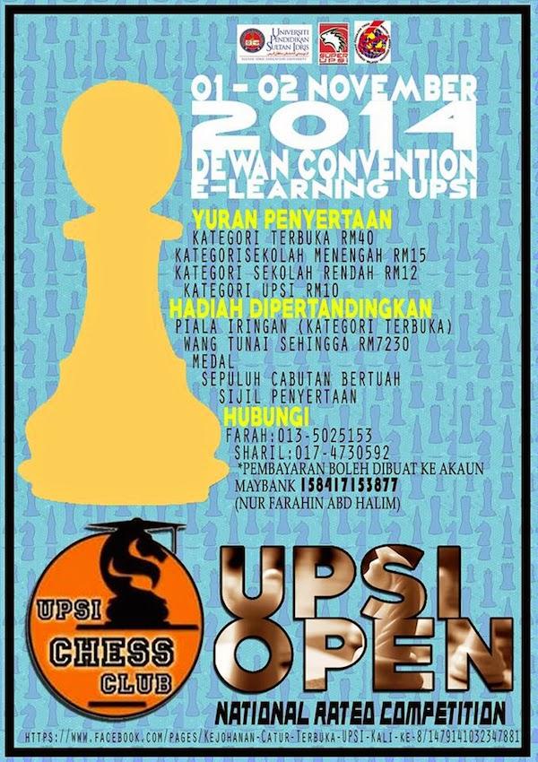 Terbuka UPSI 2014