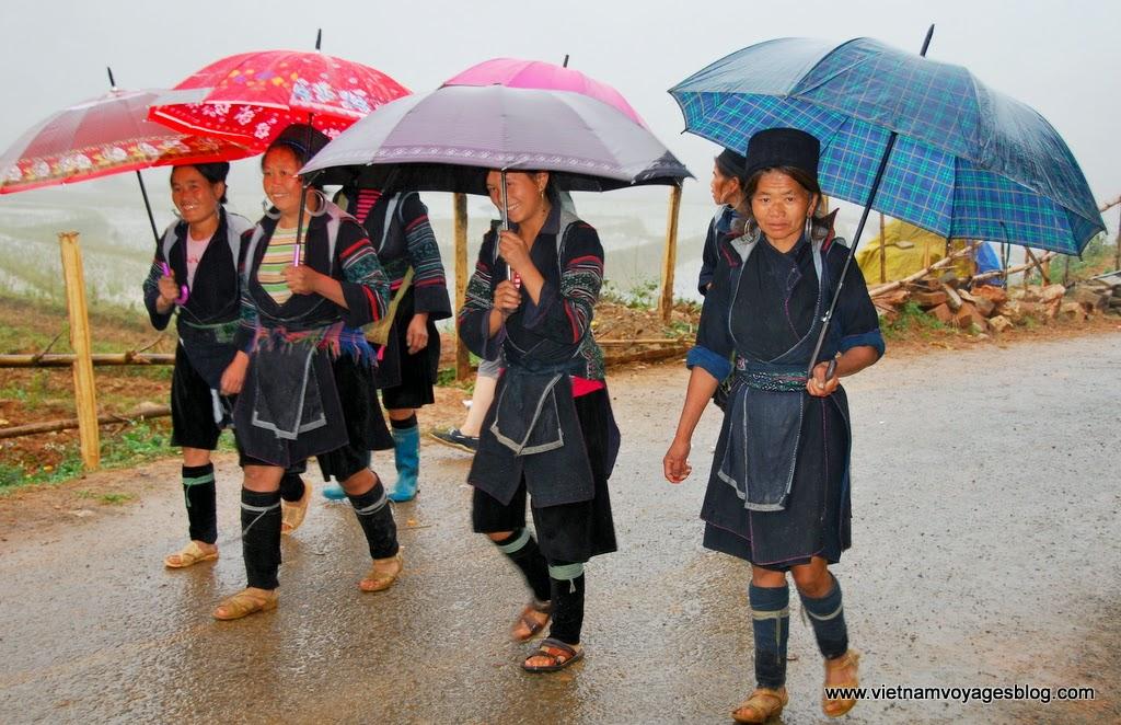 Người dân tộc H'Mông ở Sapa - Photo An Bui