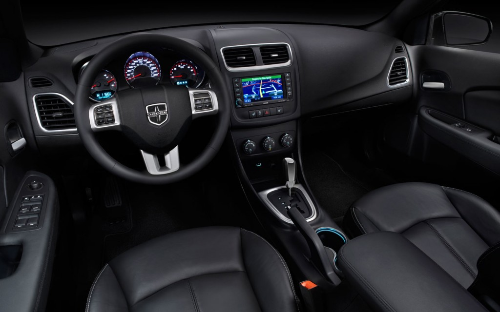 The latest version of the Dodge Avenger midsize sedan boasts a number