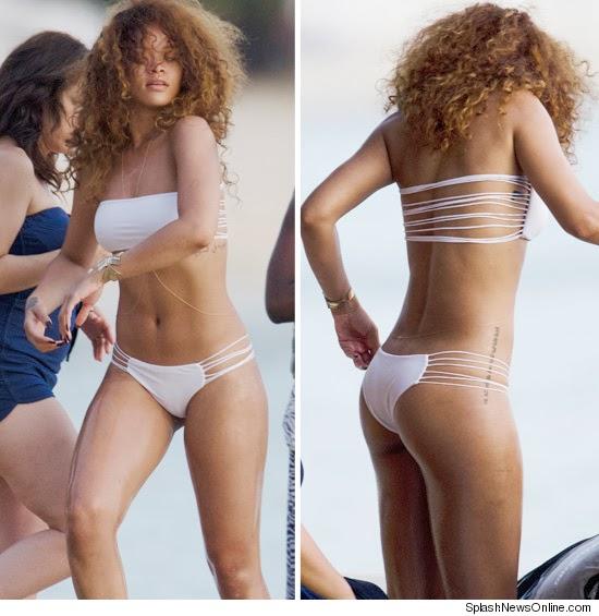 Rihanna vs Beyonce en bikini sexy sur la