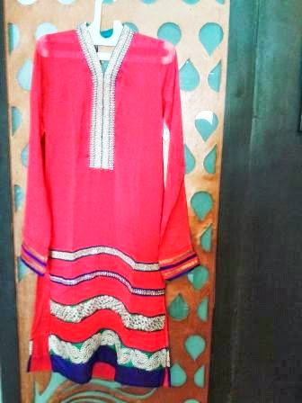 """Pakistani Designer Suits by Top Girl Boutique in Delhi, India - Promotional Campaign by """"Kind Attention""""."""