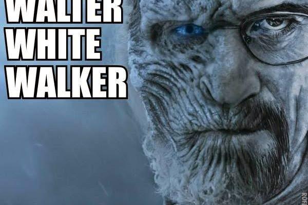 #GameOfThrones Walter White Walker Meme