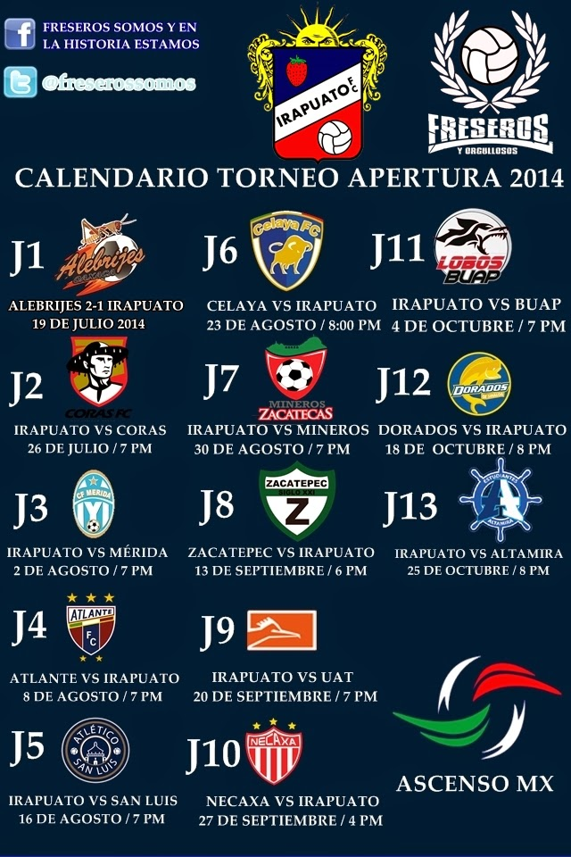 Ascenso Calendario | newhairstylesformen2014.com