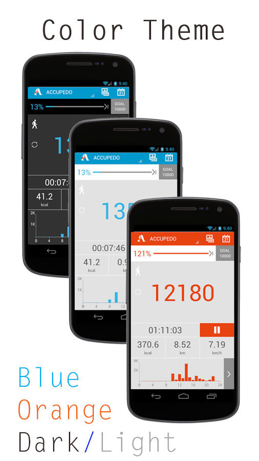 Accupedo-Pro Pedometer Android App Download,