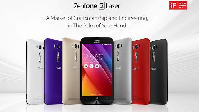 Harga Asus Zenfone 2 Laser ZE500KG Terbaru dan Spesifikasi