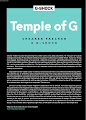 Temple of G -magazine-