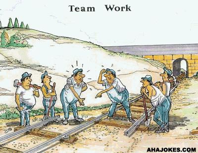 team work, mistake work