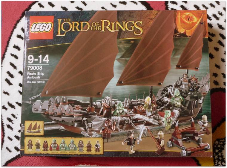 Lego Lord Of The Rings Pirate Ship Asda Direct Review Claire