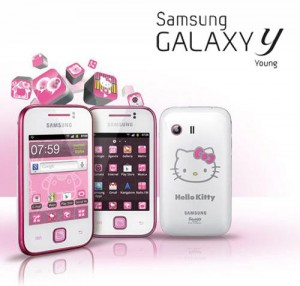Lumaniacs: Celular Samsung Galaxy Y Hello Kitty