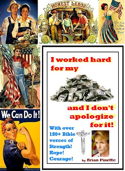 """I worked hard for my $$$ and I don't apologize for it!"" [Kindle] Includes 150+ Bible verses"