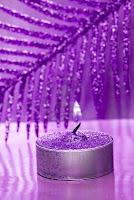 vela violeta