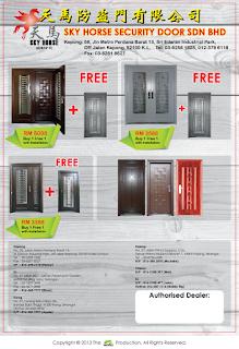 Sky Horse Security Door Sdn Bhd