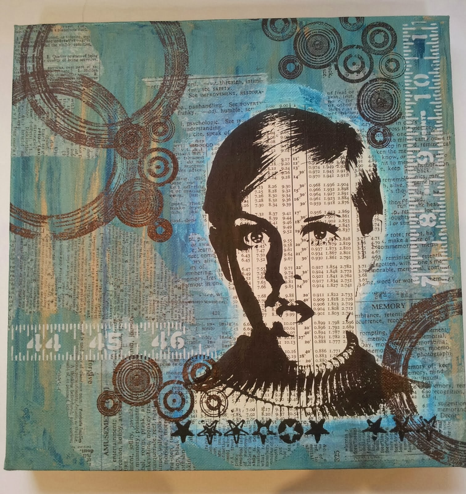 Twiggy Canvas