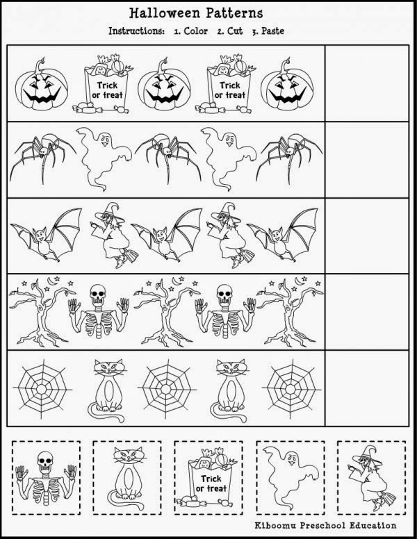 math worksheet : insect worksheets for preschool  kootation blogspot  : Halloween Math Worksheets Grade 5