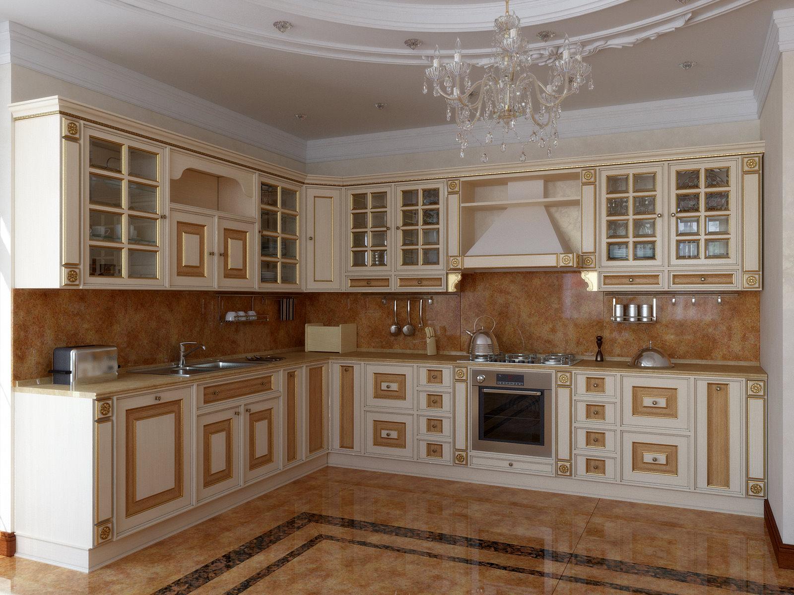 Стильной кухни интерьер кухни