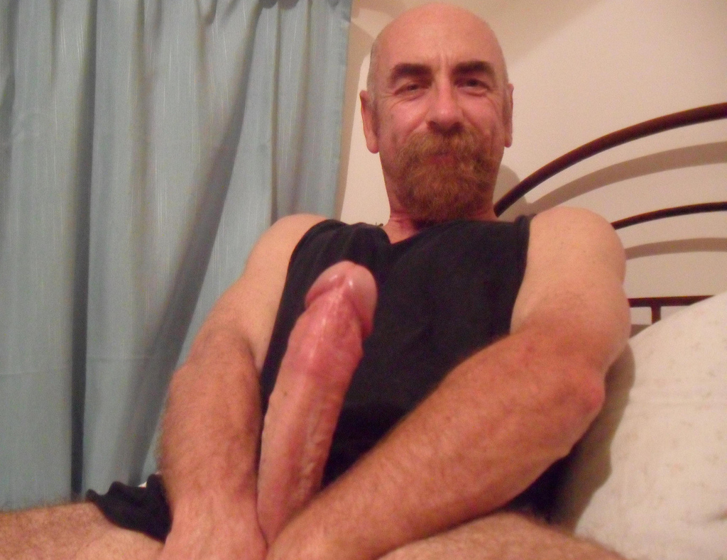 Dad's thick cock Dads Big Cock Close up