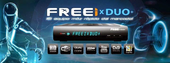 FREEI X DUO + V 3.30 - ATUALIZAÇÃO 08/07/2015
