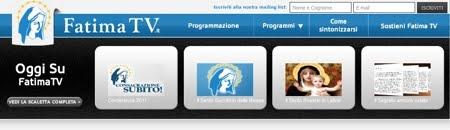 LA TV DI FATIMA IN DIRETTA...