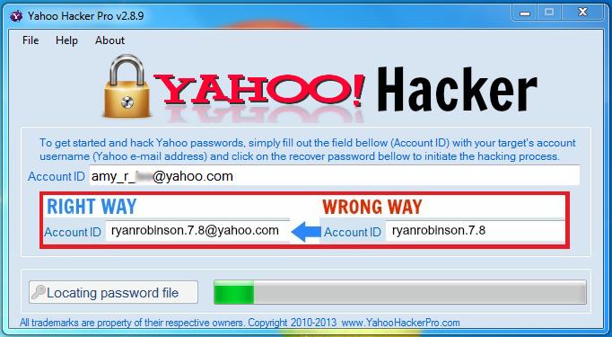 Yahoo password - 1