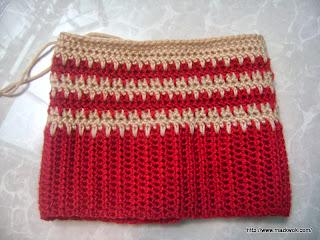 crochet drop stitch