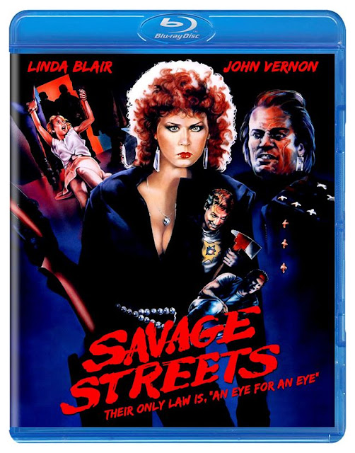 Savage Streets Blu-ray Code Red DVD