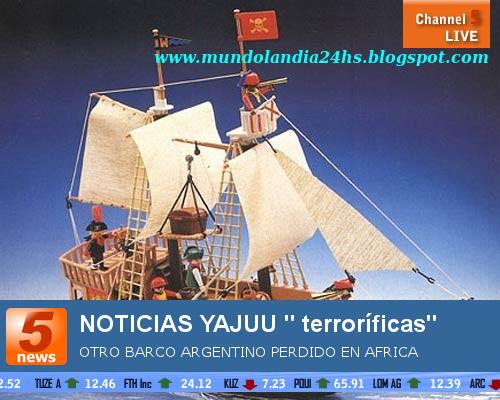 NOTICIAS BOLUDAS- NOTICIAS TERRORIFICAS- NADIE COMO YAJU