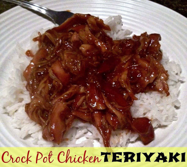 recipe crock pot chicken teriyaki the food hussy
