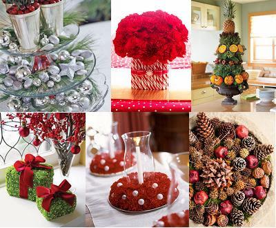 Decorar la mesa del comedor para navidad dinning christmas for Decoracion del hogar por navidad